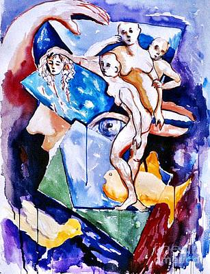 Painting - Dreamscape 2 by Nancy Wait
