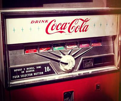 Drink Coca Cola Print by Dan Sproul