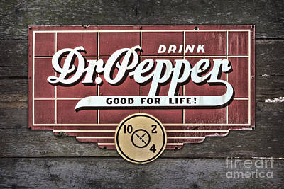 Photograph - Drink Dr Pepper by Ken Johnson