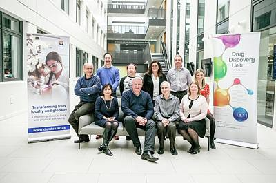 Dundee Photograph - Drug Discovery Unit Researchers by Gustoimages