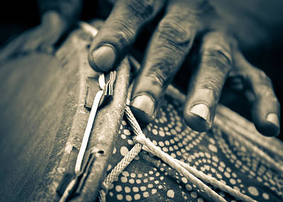 Photograph - Drum Maker's Hands II by Ronda Broatch