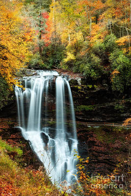 Photograph - Dry Falls Autumn Splendor by Deborah Scannell