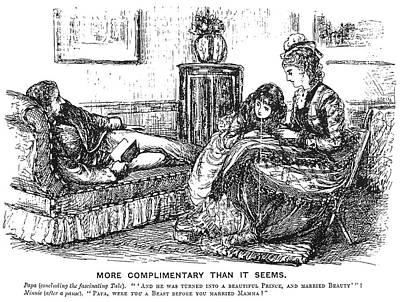Painting - Du Maurier Cartoon, 1876 by Granger