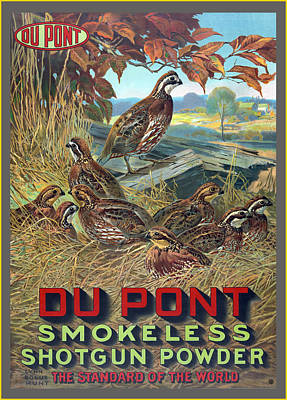 Du Pont Smokeless Art Print