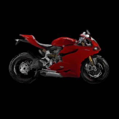 Ducati Pangale 1199 Red Awesome Original