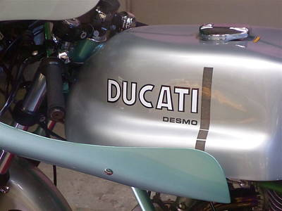 Commission Work Drawing - Ducati by TSB Art Gallery Dennis Thompson Jr Curator Photographer