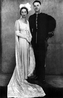 Duchess Of Windsor (1896-1986) Art Print