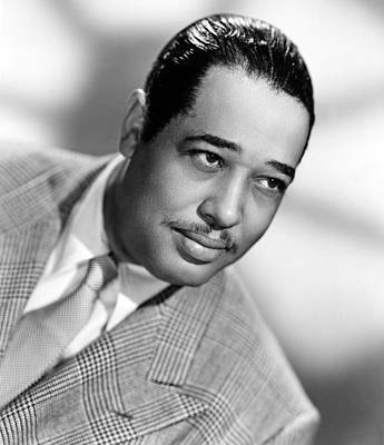 Photograph - Duke Ellington (1899-1974) by Granger