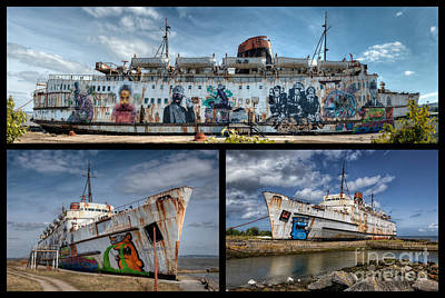 Ferry Digital Art - Duke Of Lancaster by Adrian Evans