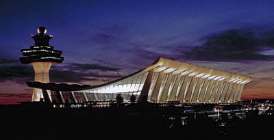 Dulles International Art Print