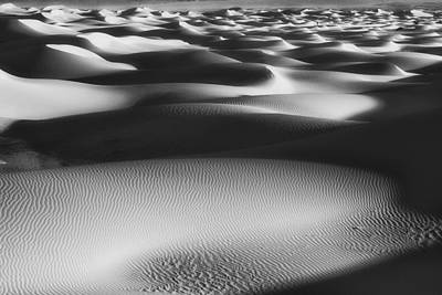 Dunes Death Valley Art Print by Hugh Smith