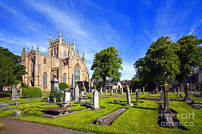 Photograph - Dunfermline Abbey Scotland by Craig B