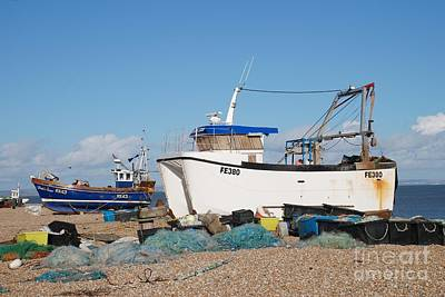 Photograph - Dungeness Fishing Boats by David Fowler