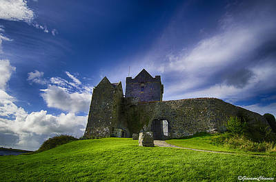 Dunguaire Castle Ireland Art Print by Giovanni Chianese