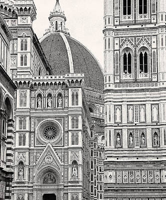 Photograph - Duomo Of Florence by Allen Beatty