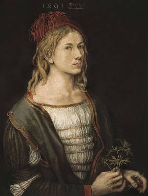 Self-portrait Photograph - Durer, Albrecht 1471-1528 by Everett