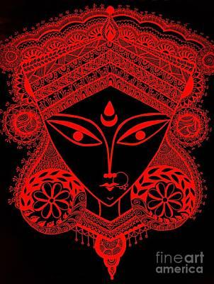 Durga Maa Art Print