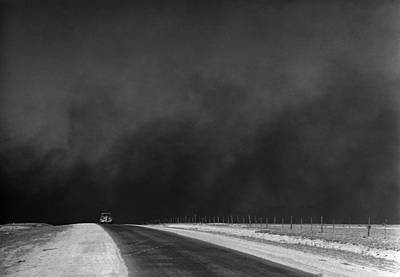 Photograph - Dust Bowl, 1936 by Granger