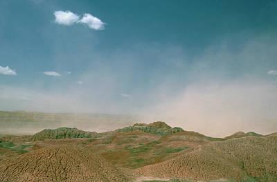 Drought Wall Art - Photograph - Dust Storm by Adam Hart-davis/science Photo Library