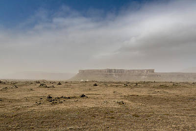 Dust Storm, Eastern, Iceland Art Print by Panoramic Images
