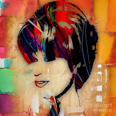 Dusty Springfield Collection Art Print