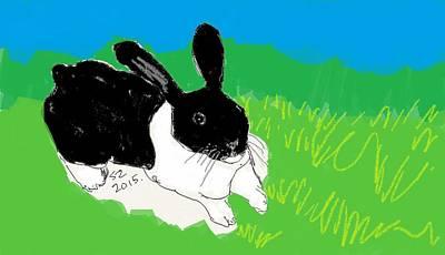 Dutch Rabbit Original by Samuel Zylstra
