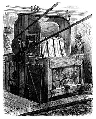 1870 Photograph - Dyeing Industry by Science Photo Library