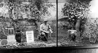 Dynamite Window Display Art Print by Underwood Archives