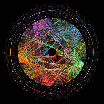 Digital Art - e Transition Paths by Martin Krzywinski