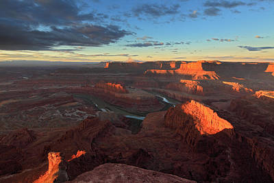 Early Morning At Dead Horse Point Art Print