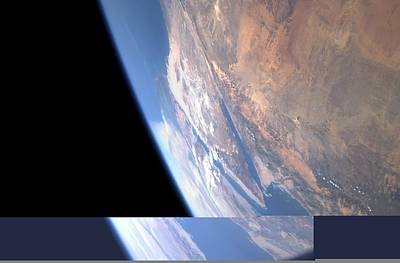 Aqaba Photograph - Earth From Space, Astronaut Photo by Science Photo Library