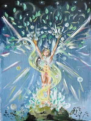 Unity Painting - Earth Spirit by Katerina Naumenko