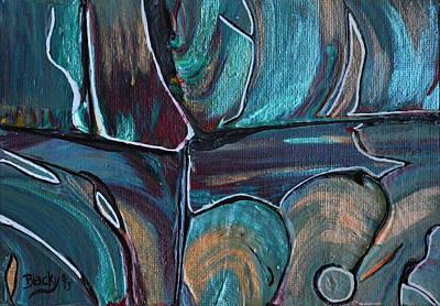 Earth Tones Original by Donna Blackhall