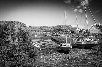 Photograph - Easdale Island  by Fiona Messenger