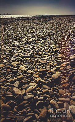 Water Filter Photograph - East Coast Devonport Pebble Beach In Tasmania by Jorgo Photography - Wall Art Gallery