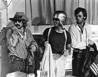 Easy Rider, From Left, Dennis Hopper Art Print by Everett