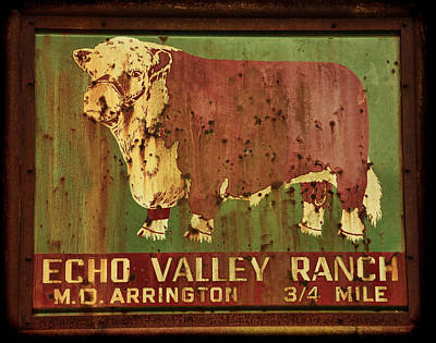 Echo Valley Ranch Art Print