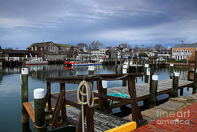 Photograph - Edgartown Waterfront by Butch Lombardi