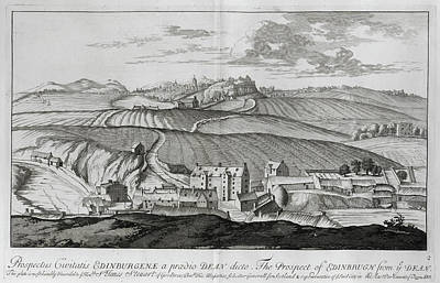 Edinburgh Castle Photograph - Edinburgh by British Library