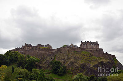 Photograph - Edinburgh Castle by Scott D Welch