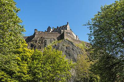 River Scenes Photograph - Edinburgh Castle by Svetlana Sewell
