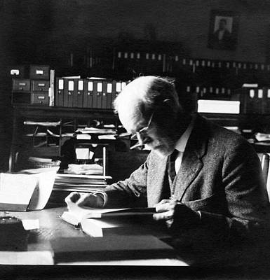 Biologist Photograph - Edmund Wilson by American Philosophical Society