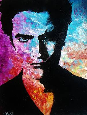 Robert Pattinson Painting - Edward Cullen by Jeremy Moore