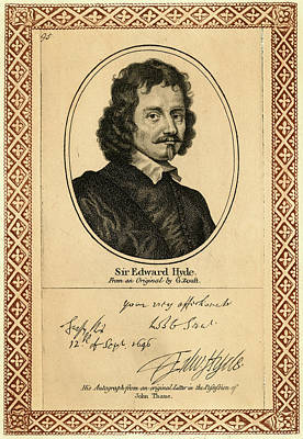 Edward Hyde, 1st Earl Of  Clarendon Art Print by Mary Evans Picture Library
