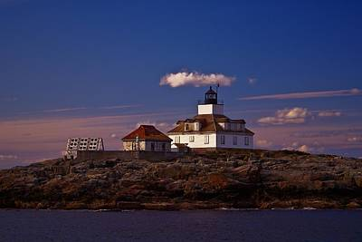 Photograph - Egg Rock Light.  by New England Photography