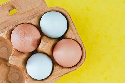 Eggs Art Print by Tom Gowanlock