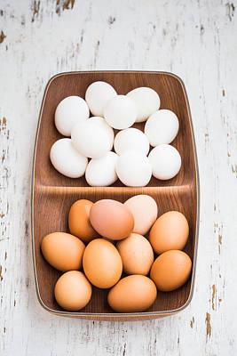 Photograph - Eggs by Voisin Phanie