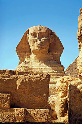 African Heritage Photograph - Egypt, Cairo, Giza, The Sphinx by Miva Stock