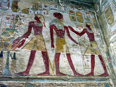 Photograph - Egyptian Art - Abu Simbel by Jacqueline M Lewis