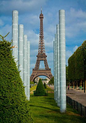Photograph - Eiffel Tower by Anthony Doudt